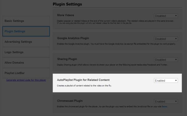 AutoPlaylist Plugin