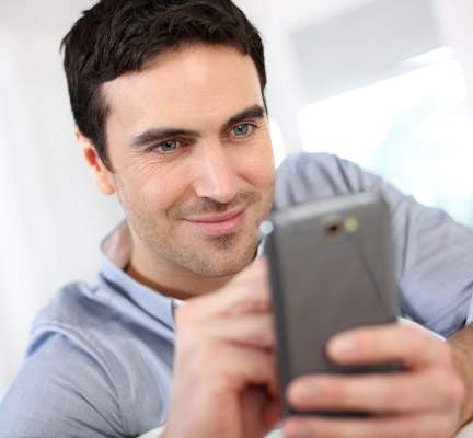Man-using-smartphone